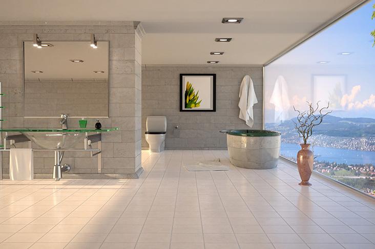 Glaserei kuhbandner glaselemente und duschabtrennungen for Bathroom designs durban